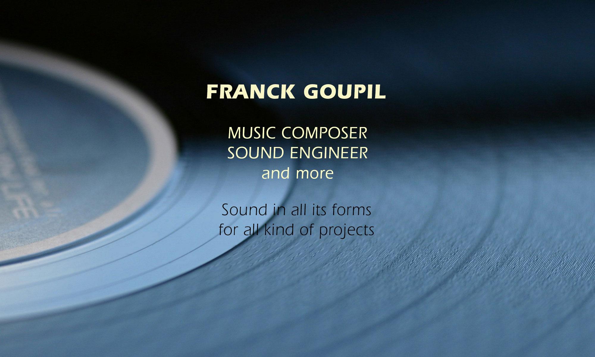 FRANCK GOUPIL